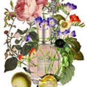 Flowerbomb Notes - By Diana Van Art Print