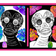 Flowering Death 2 Art Print