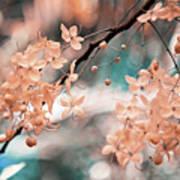Flowering Tree. Nature In Alien Skin Art Print