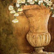 Flowering Urn Art Print