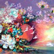 Flowers 02 Art Print