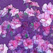 Flowers #063 Art Print