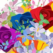 Flowers 7 Art Print