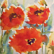 Poppies Wanted Art Print