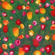 Flowers Afloat Art Print