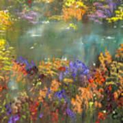 Flowers And Grasses IIi Art Print