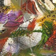 Flowers And Leaves IIi Art Print