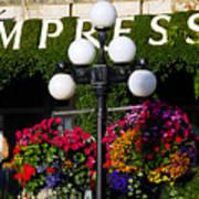 Flowers At The Empress Art Print