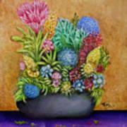 Flowers Base Art Print