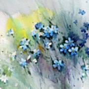 Flowers Fantasy Art Print