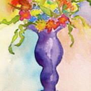 Flowers For Bobbie Art Print
