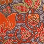 Flowers For Fleet Foxes Art Print