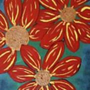Flowers For M Art Print