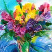 Flowers For My Jesus Art Print