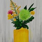 Flowers From My Mother Art Print