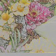 Flowers In A Bunch Art Print