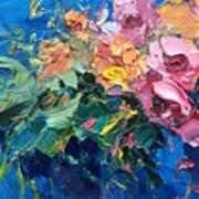 Flowers In The Water Art Print