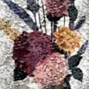 Flowers In Winter Art Print