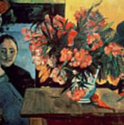 Flowers Of France Art Print