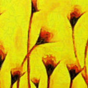 Flowers Of Love  - Van Gogh -  - Pa Art Print