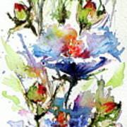 Flowers Of Summer Art Print