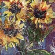 Flowers Of The Gods Art Print