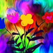 Flowers Of The I-magi-nation Art Print
