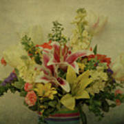 Flowers Print by Sandy Keeton