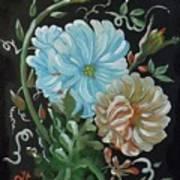 Flowers Surreal Art Print