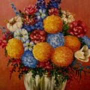 Flowers Vase Art Print