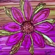Flowerscape Dahlia Art Print