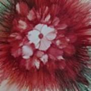 Flowerscape Just Beginning Art Print