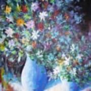 Flowerworks Art Print