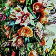 Flowing Bouquet Art Print
