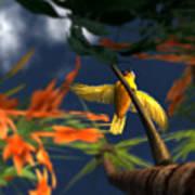 Flutter Art Print by Monroe Snook