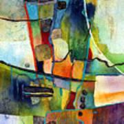 Fluvial  Mosaic Art Print