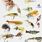 Fly Fishing I Art Print