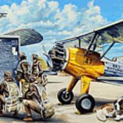 Flyers In The Heartland Art Print