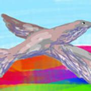 Flying Bird II Art Print