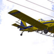 Flying By Wire 4 Of 6 Art Print