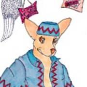 Flying Chihuahua's Art Print