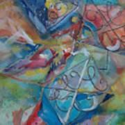 Flying Cs Art Print
