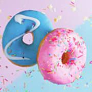 Doughnuts Treat Art Print