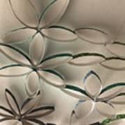 Flying Flowers Art Print