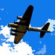 Flying Fortress Art Print