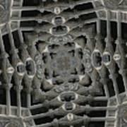 Flying Gothic 2 Art Print