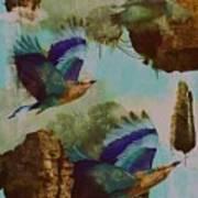 Flying Islands Art Print