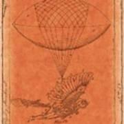 Flying Machine - 01c02 Art Print
