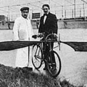 Flying Machine, 1912 Art Print
