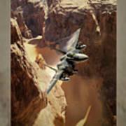 Flying Tenniscourt Art Print